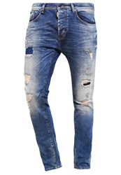 Antony Morato Slim Fit Jeans Destroyed Denim