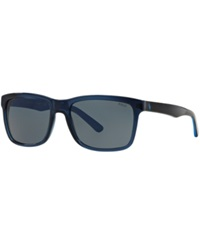 Polo Ralph Lauren Sunglasses Polo Ralph Lauren Ph4098 57 Blue Clear Grey