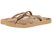 Vionic Beach Noosa Bronze Snake Women's Sandals