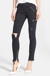 Women's Rta 'Mila' Destroyed Skinny Jeans Thunder