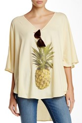 Wildfox Couture Pineapple Tahiti Tunic Yellow