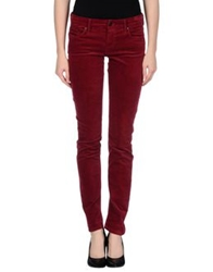 Mother Casual Pants Maroon