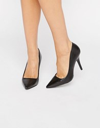 Aldo Simple Court Shoes Black