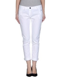Cesare Paciotti 4Us Casual Pants White