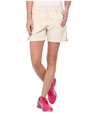 Puma Short Short Oatmeal Women's Shorts Brown