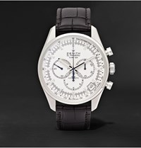 Zenith El Primero 36 000 Vph Stainless Steel And Alligator Watch