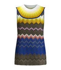 Missoni Zig Zag Sleeveless Top Female Multi