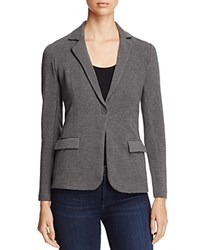 Majestic Filatures French Terry Knit Blazer Flanelle