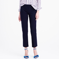 J.Crew Petite Campbell Capri Pant In Bi Stretch Cotton