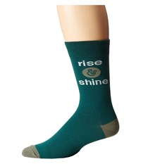 Life Is Good Lig Crew Socks Hunter Green Women's Crew Cut Socks Shoes