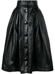 Awake Belted Full Skirt Black