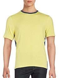 Revo Two Toned Short Sleeve T Shirt Red