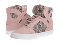 Supra Elyse Walker Skytop Wedge Pink Brown White Women's Skate Shoes Multi