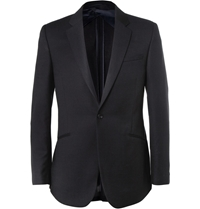 Kilgour Wool Travel Blazer Blue