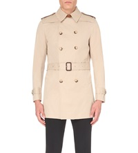 Sandro Trench Coat Cream