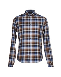 Byblos Shirts Brown