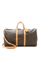 Wgaca Heritage Louis Vuitton Monogram Keepall 55 Bag