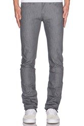 Naked And Famous Skinny Guy Grey Stretch