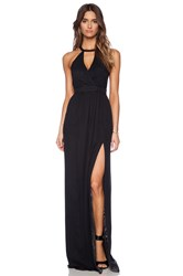 Jay Godfrey Dallenbach Backless Gown Black