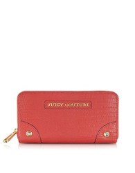 Juicy Couture Red Ginger Sierra Zip Continental Wallet