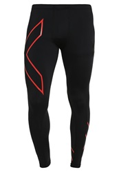 2Xu Tights Black Red