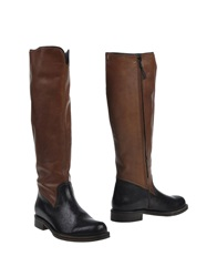 Henry Beguelin Boots Brown