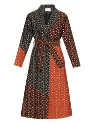 Osman Margaux Embroidered Coat