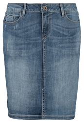 Esprit Denim Skirt Beach Blue Light Blue