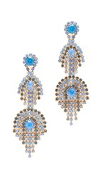Elizabeth Cole Hanna Earrings Blue