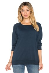 Nation Ltd. Classic Raglan Sweatshirt Blue