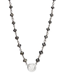 Twilight Bezel Set Diamond Pendant Necklace Rina Limor Red