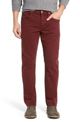 Hudson Jeans Men's 'Byron' Slim Straight Leg Trooper Crimson