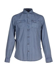 Napapijri Shirts Shirts Men Slate Blue