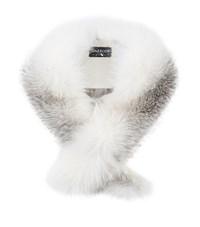 Harrods Of London Long Collar Fox Fur Stole Female