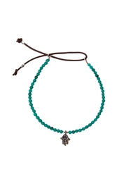 Catherine Michiels Mini Hand Bracelet Blue