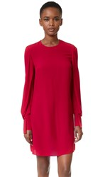 3.1 Phillip Lim Dress With Draped Sleeves Ruby