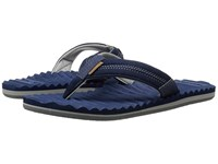 Freewaters Scamp Navy Dark Grey Men's Sandals Blue