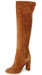 Alexa Wagner Theresa Suede Boots Paris Texas Tobacco