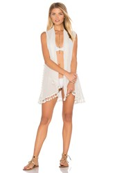 L Space Ocean Drive Cover Up On Ivory