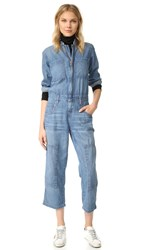 Current Elliott The Janitor Coverall Jumpsuit Hoyt