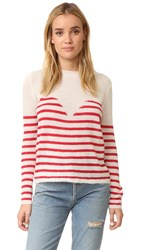 Mes Demoiselles Matisse Sweater Ivory Red