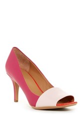 Calvin Klein Nareen Open Toe Pump Pink