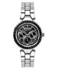 Versus By Versace Sertie Stainless Steel Silvertone Watch Sos070015