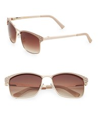 Sam Edelman 51Mm Studded Square Sunglasses Gold