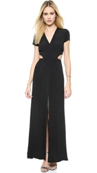 Lovers Friends Harper Maxi Dress Black