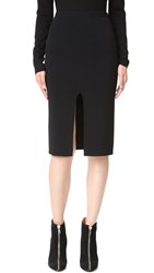 Dion Lee Reversible Split Density Skirt Black