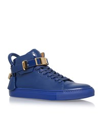 Buscemi Clasp Patent 100Mm Sneakers Male Navy