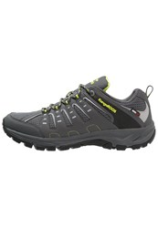 Kangaroos Botar Hiking Shoes Dark Grey Lime