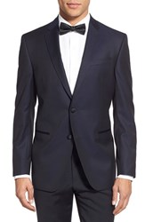 Men's Ted Baker London Trim Fit Wool Dinner Jacket