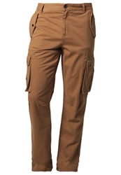 Your Turn Cargo Trousers Brown